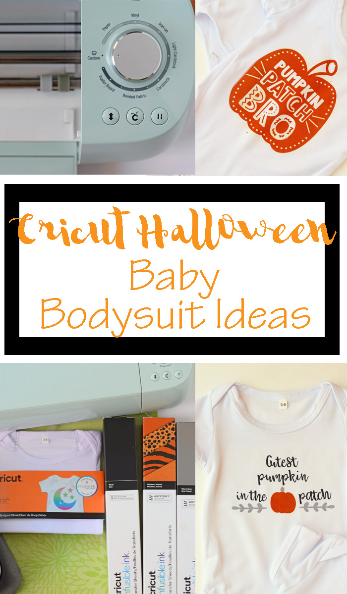 Halloween Baby Bodysuits with Cricut AD