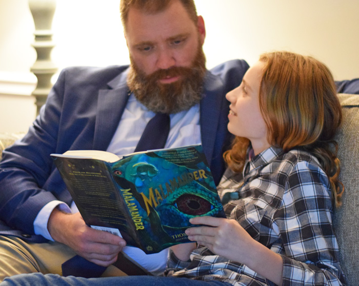 The Importance of Reading with Dad AD