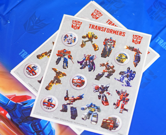 Transformers Party Ideas AD