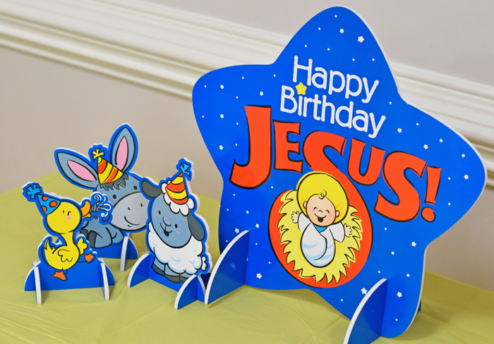 Happy Birthday Jesus Christmas Party Ideas AD