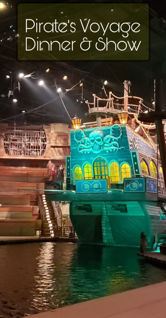 Visiting the Pirate's Voyage Dinner & Show