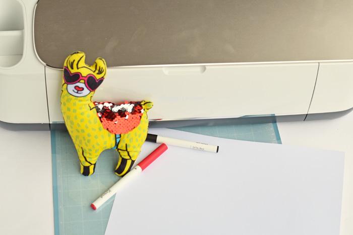 Llama Valentine's Day Classroom Handout AD
