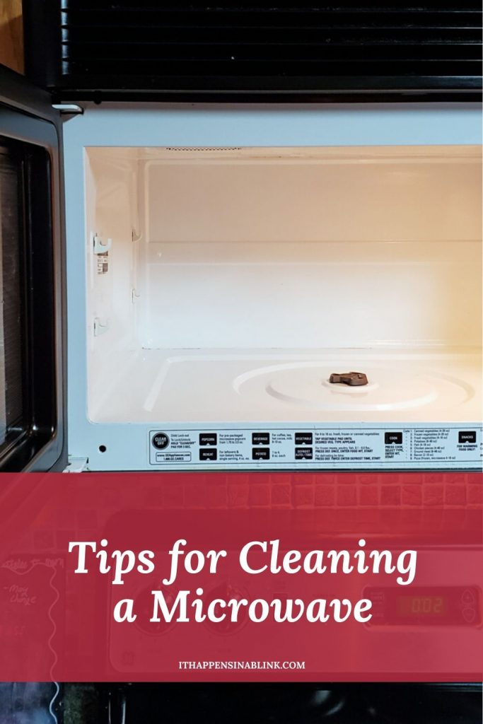 Tips for Cleaning a Microwave