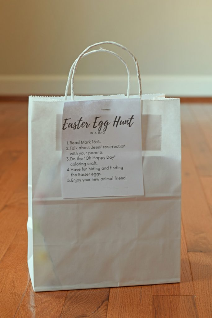 Easter Egg Hunt in a Bag