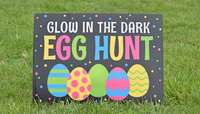 At-Home Glow-in-the-dark Easter Egg Hunt