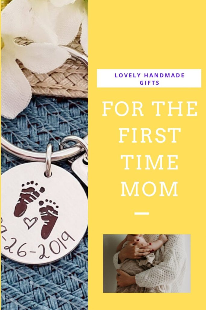 Lovely handmade gifts for the first time mom