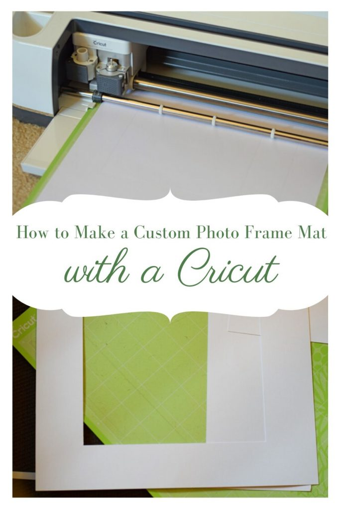 How to Make a Custom Photo Mat with the Cricut