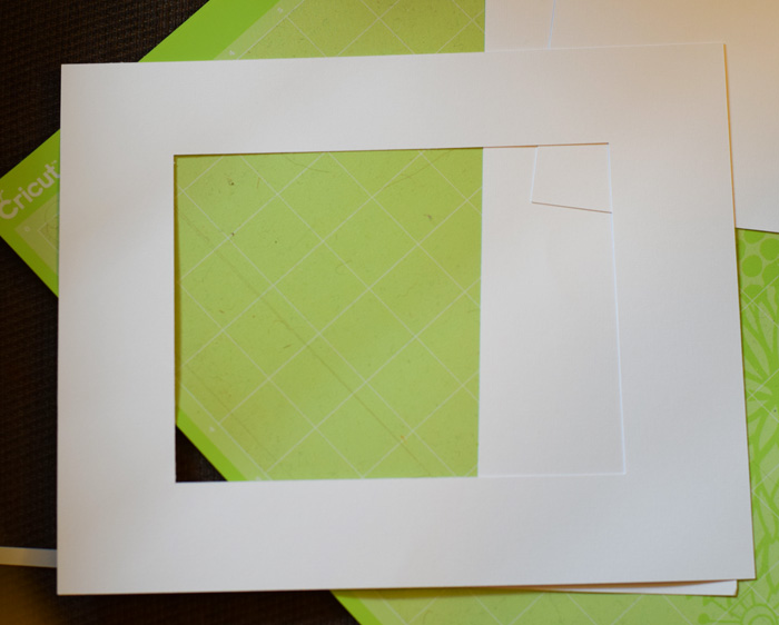 How to Make a Photo Frame Mat with the Cricut Machine