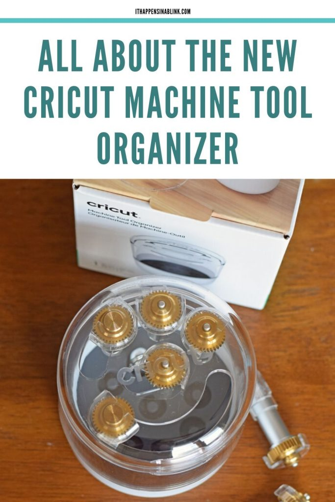 All About the New Cricut Machine Tool Organizer