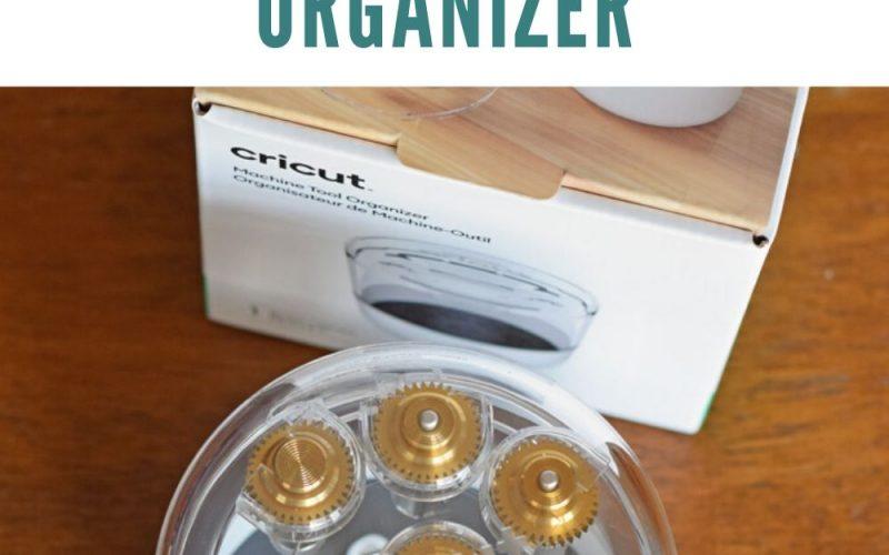 All About the Cricut Machine Tool Organizer