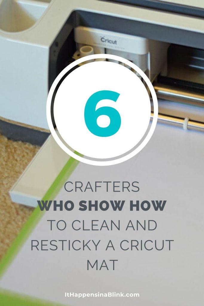 Can I Re-stick My Cricut Mat?