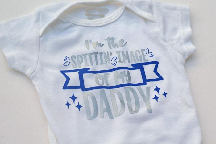 Spittin' Image of My Daddy Baby Bodysuit