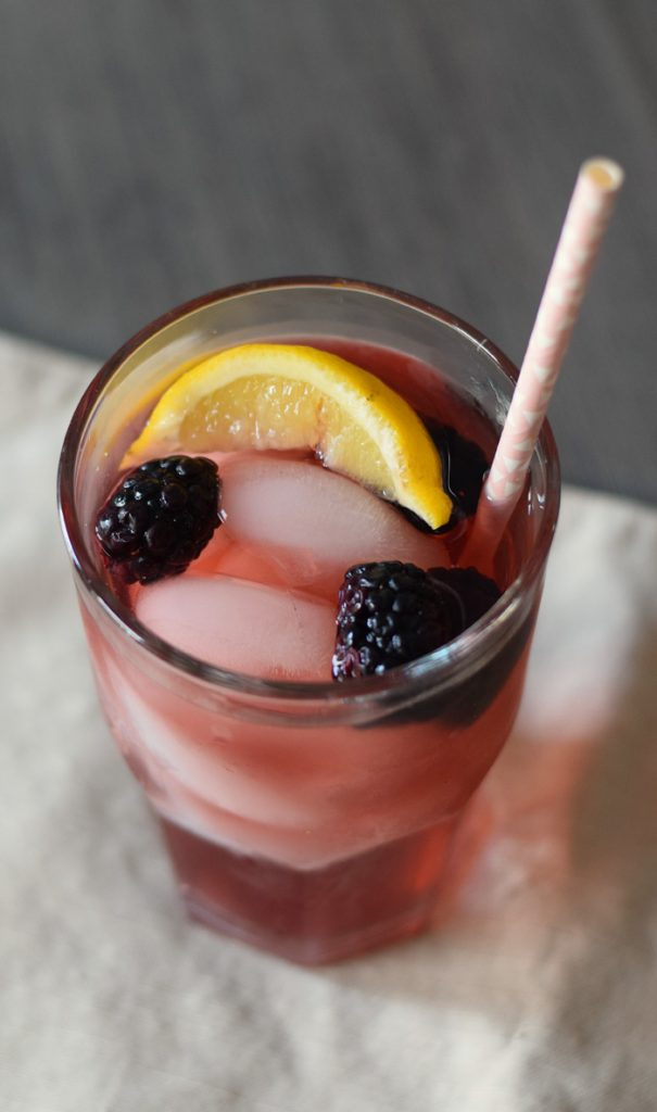 Elderberry Yaupon Iced Tea