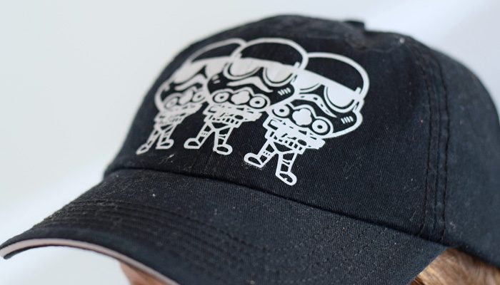 How to Make a Stormtrooper hat with the Cricut machine