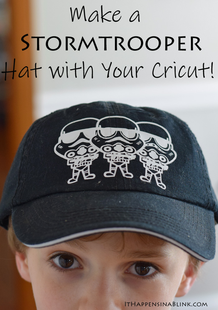 Make a Stormtrooper Hat with the Cricut machine