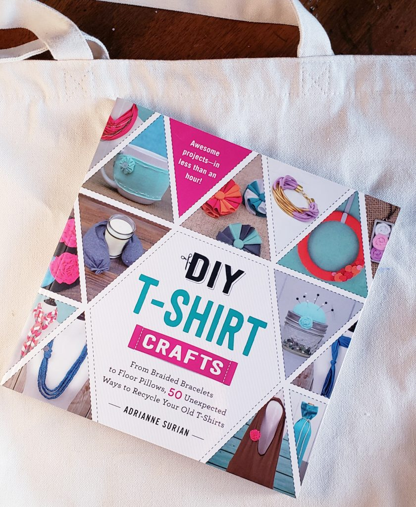 Crafty Book Review: DIY T-shirt Crafts