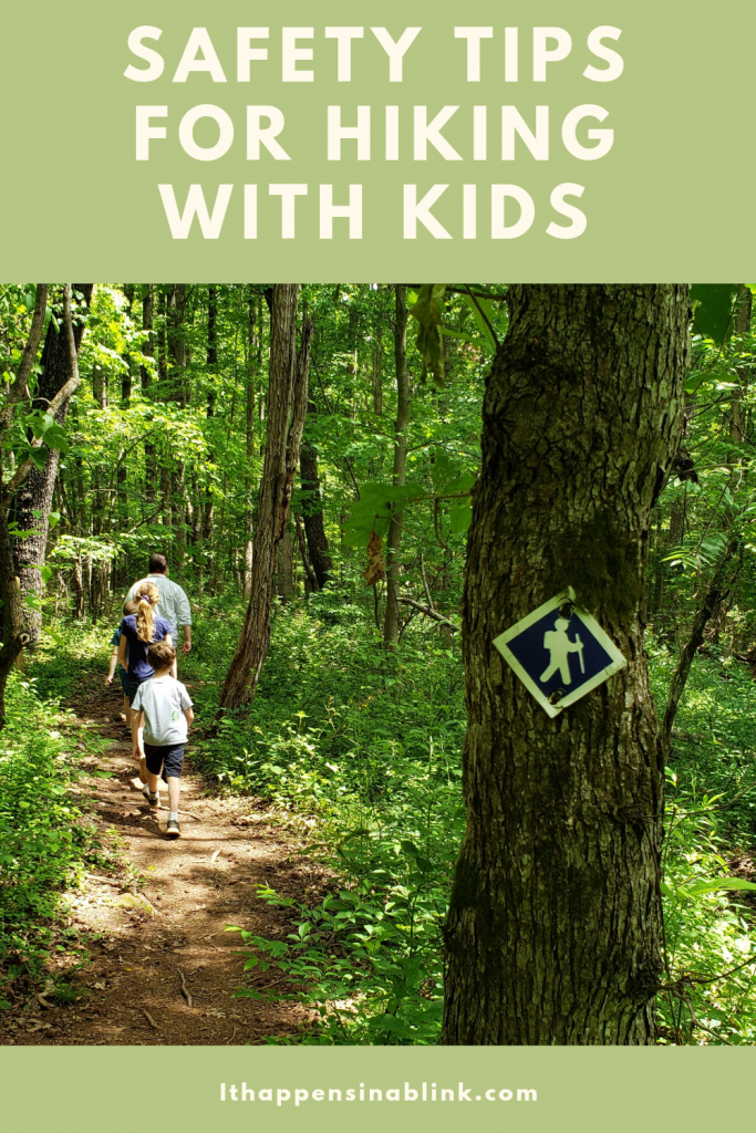 Safety Tips When Hiking with Kids