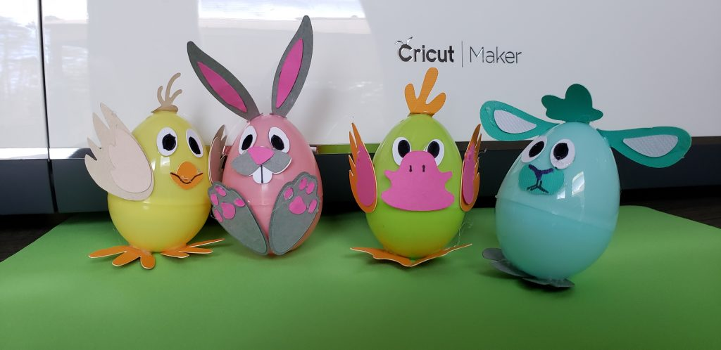 Animal Easter Eggs Craft
