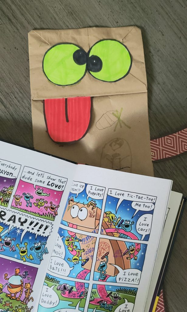 Munchy Paper Bag in Dog Man Grime and Punishment