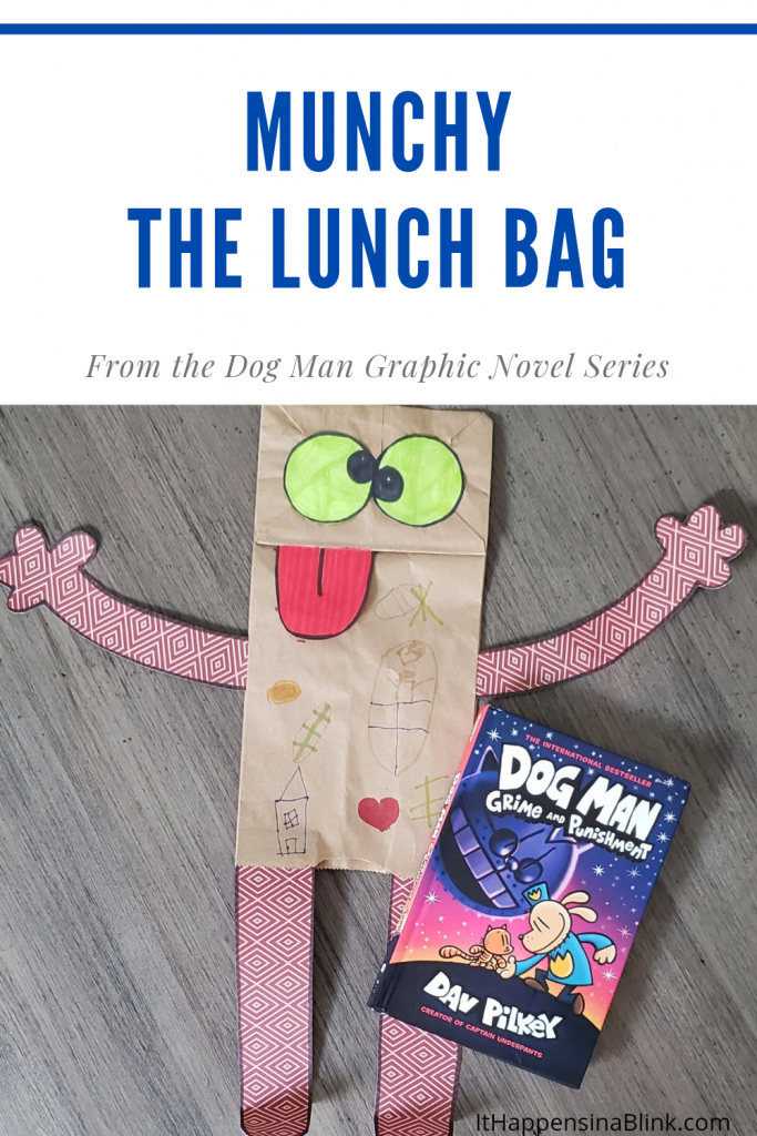 Munchy Paper Bag from Dog Man