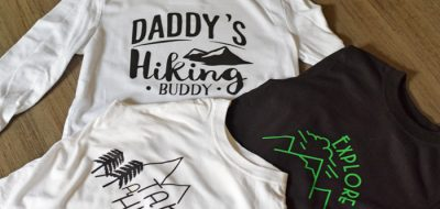 Hiking Shirts for Kids with the Cricut Maker 3